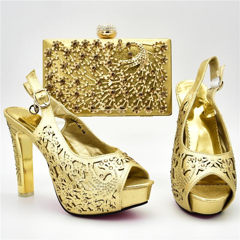 6591e316d Compre Nova Chegada Sapatos Italianos E Saco Set Para A Festa Em Mulheres  De Luxo Sapatos Mulheres Designers Nigéria Mulheres Sapatos De Casamento E  ...