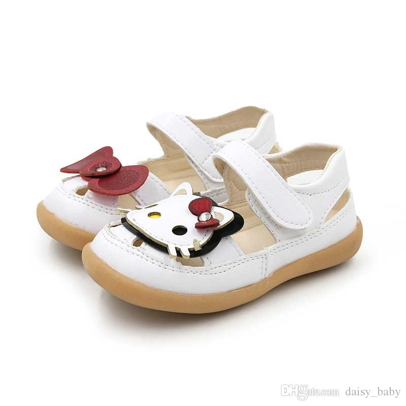 4accd9057164 Shoe Child Sandals Girls Toecap Shoes Girl Summer Bow Tie Cat Antiskid  Bottom Sandal Princess Beach Shoe For Kids  11 Cute Shoes For Toddler Boys  Childrens ...