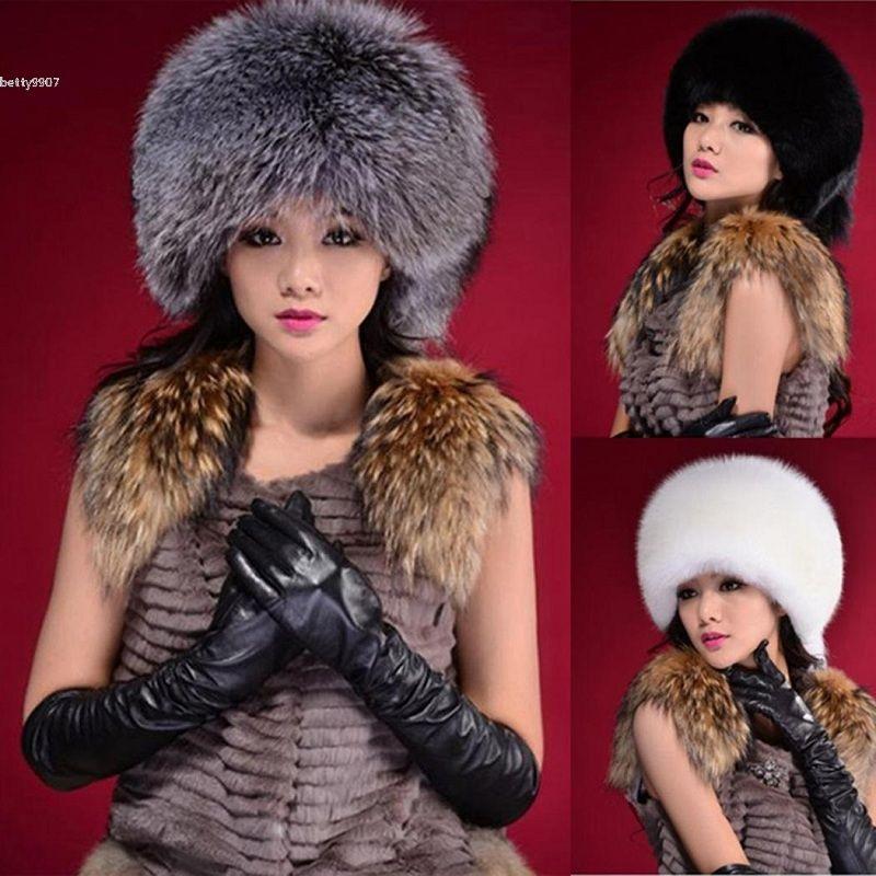 Designer Women Winter Cap Soft Warm Faux Fox Fur Headband Earwarmer 2018  New Casual Fashion White Dark Grey Black Ski Hat Cloche Hat Crochet Hats  From ... f65be3ff6006