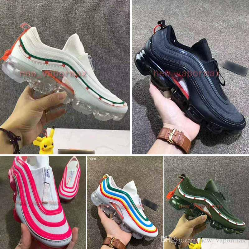 New 97 Hybrid Running Shoes 2018 Black Reflect Silver Bullet Japan OG Men  Women Plus Tn 97 Sneakers Sports Shoes Size36-46 Running Shoes Plus Tn 97  Online ...