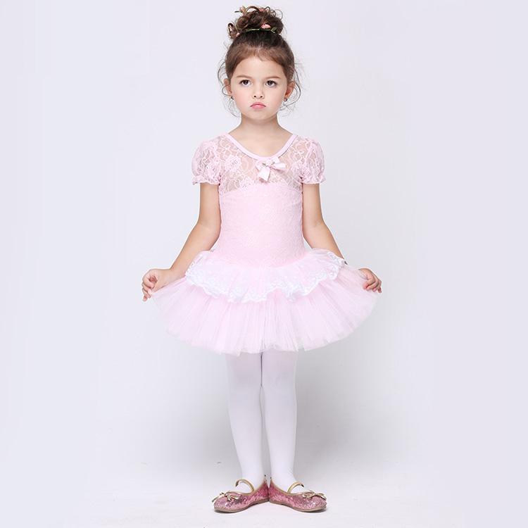 Acheter Livraison Gratuite Gymnastique Justaucorps Ballet Tutu Jupe Filles  Robe Robe Ballet Pour Enfants Rose Mariage Enfants Costumes De  30.6 Du  Yuanchun ... 146c779d402