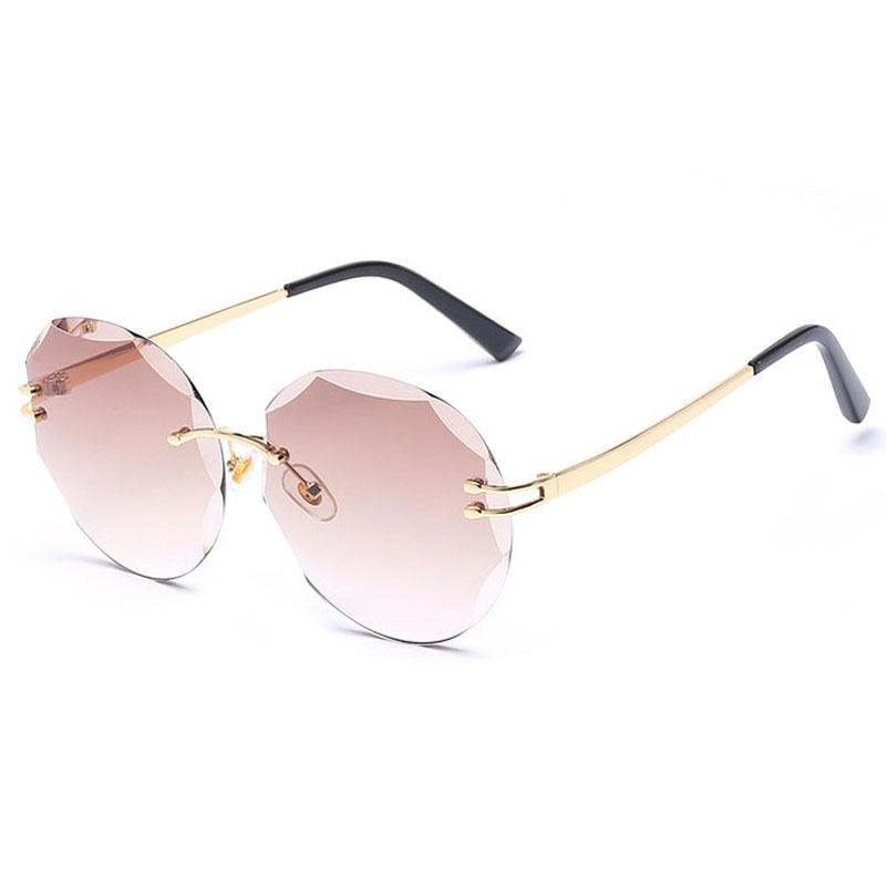 a1cbe1f831 Sunglasses For Women Fashion Sunglases Womens Oversized Sunglass 2018 Luxury  Sun Glasses Ladies Rimless Designer Sunglasses 6C5J18 Sunglasses Shop Bolle  ...