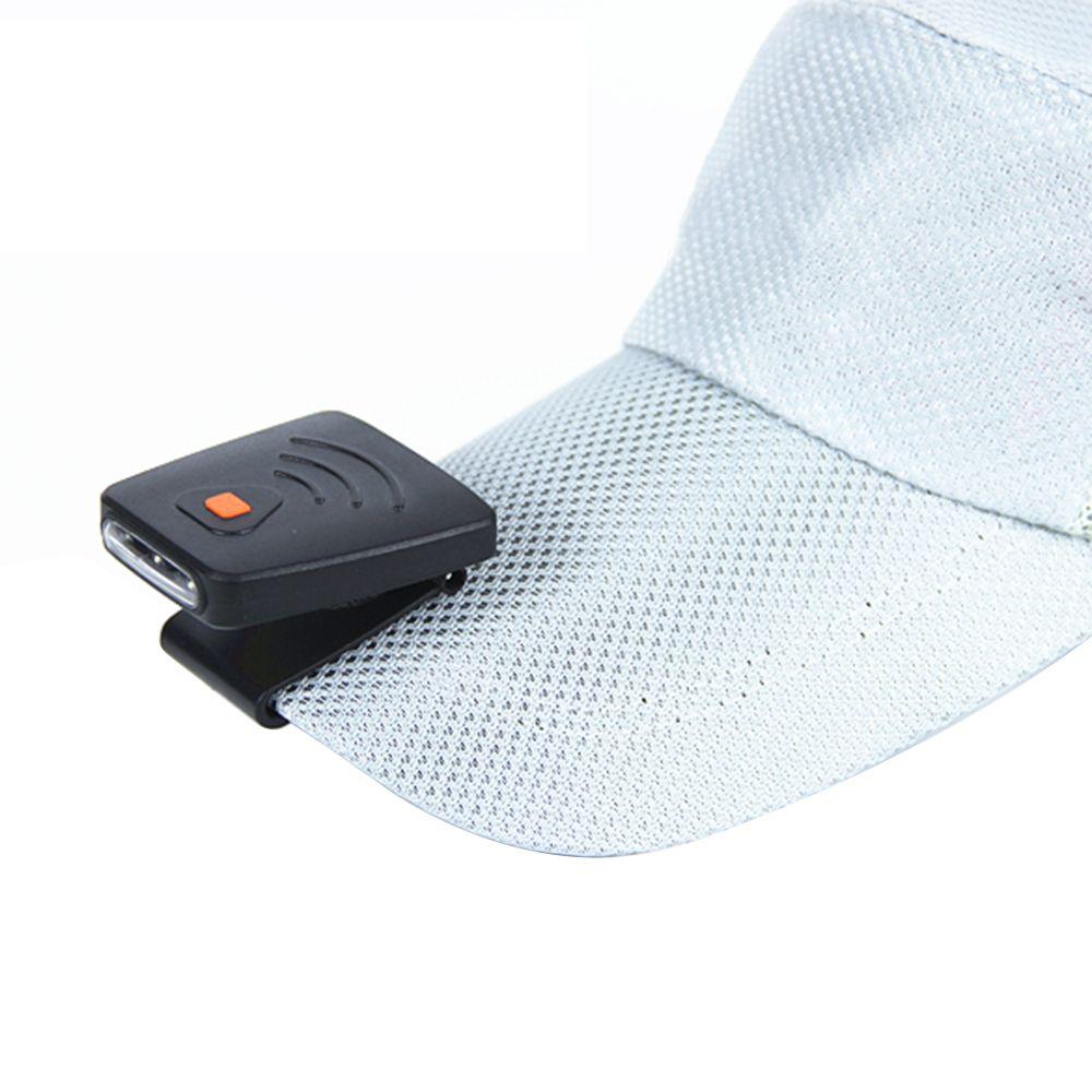 e7b6fcab2e5 oobest Mini LED Hat Clip Light Fishing Spotlight Headlamp Cap Headlights  Smart Sensor Switch for Night Fishing Camping Hunting