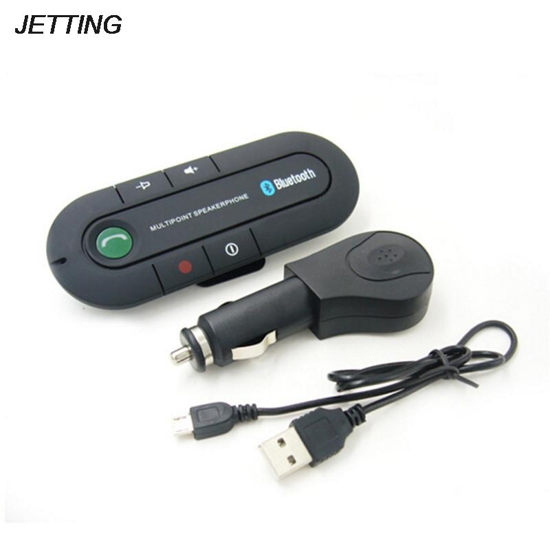 FM Transmitter MP3 music Player Hands free Speakerphone Wireless Bluetooth  Handsfree Car Kit For Mobile Phone Dual Phone Connect