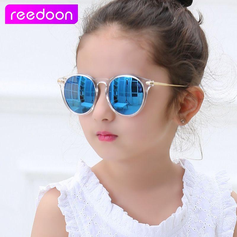 d7f85f0463 Reedoon Kids Girls Sunglasses Polarized UV400 Mirror Lens Metal Frame Baby  Eyewear Child Sun Glasses Cute Oculos Infantil 2958 D18101302 Mens  Sunglasses ...