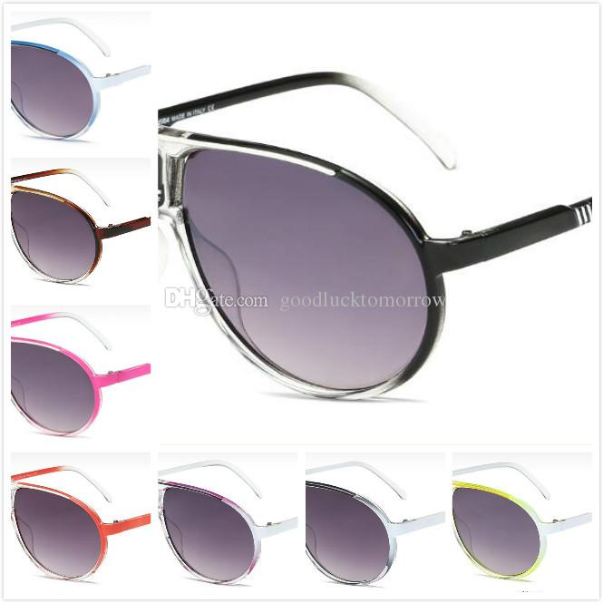 5b2bc72c6f9 2018 New Brand Metal Multicolor Frame Glasses High Quality Anti UV Men Women  Retro Sunglasses Polarized UV400 Resin Lens Unisex Eyewear+Box Sunglasses  Shop ...