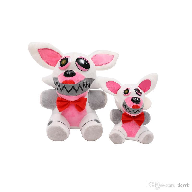 Jouets en peluche 15cm 25cm Naoshima Freddy FNAF Poupées Peluches Or Freddy fazbear Mutilation Foxy ours jouets pour animaux en peluche Bonnie
