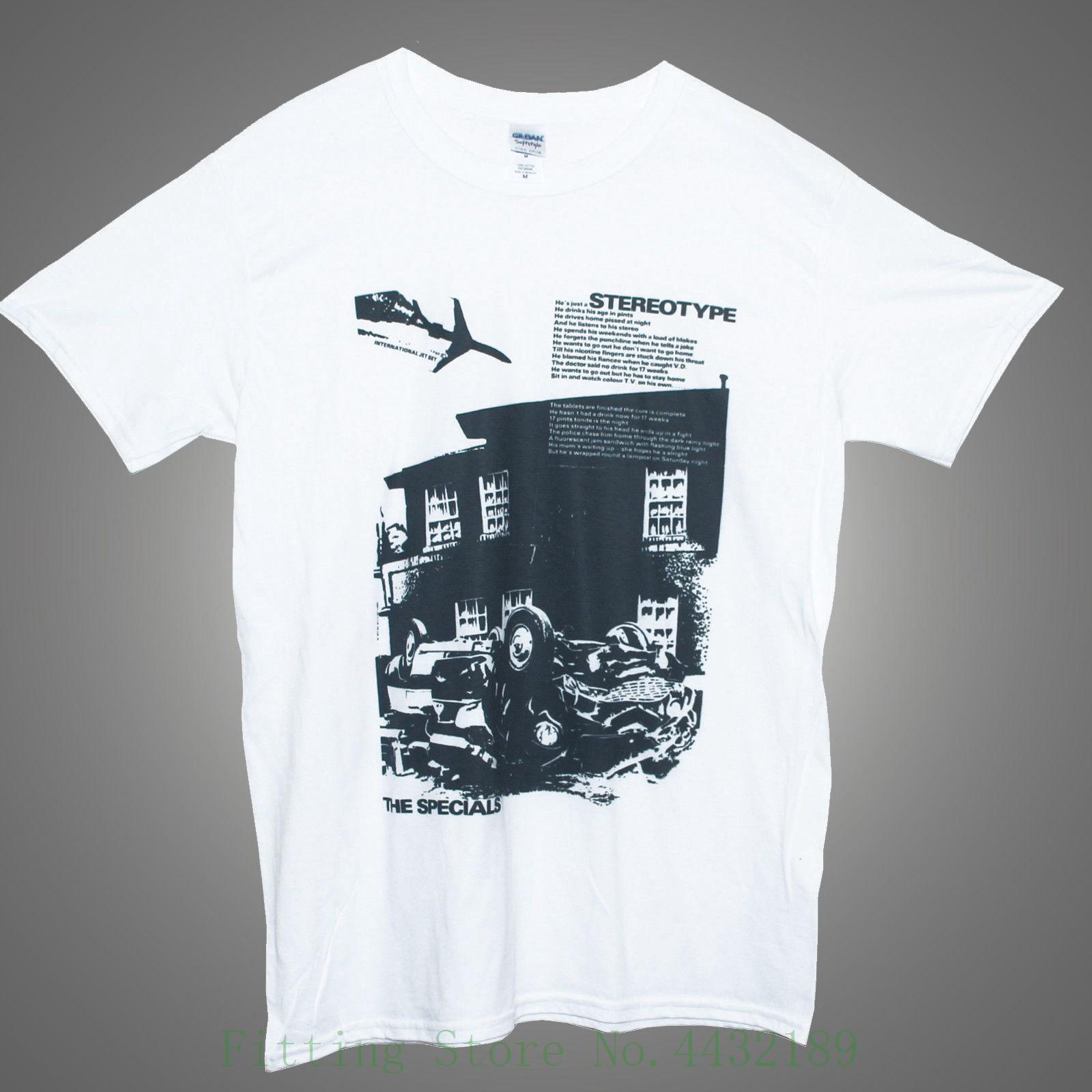 The Specials T Shirt Ska Two Tone Stereotype Printed Graphic Band