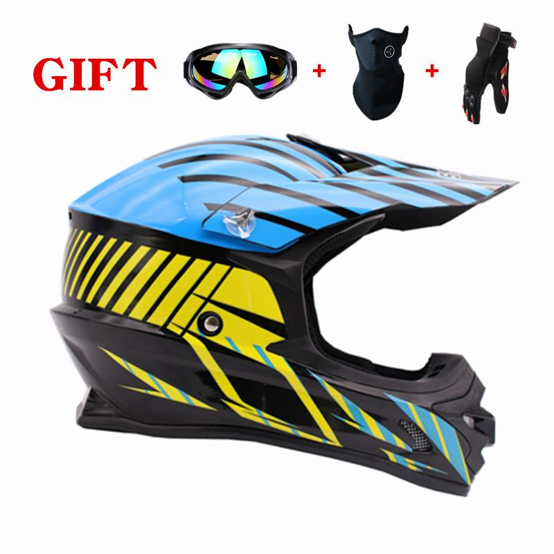 Hot Sale Motorcycle Helmet Casque Moto Helmets Motocross Off Road Man Helmet Boy Girl Protective Cycling Casque