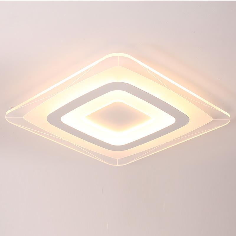 Großhandel Ultru Dünne Schlafzimmer Deckenleuchte Transparent LED ...