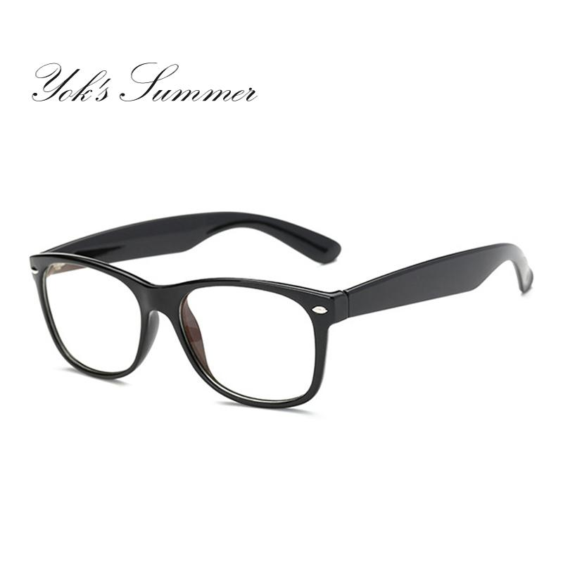 91e9c06652e541 Yok s Anti Radiation   Fatigue Rectangle Eyeglasses Women Men ...