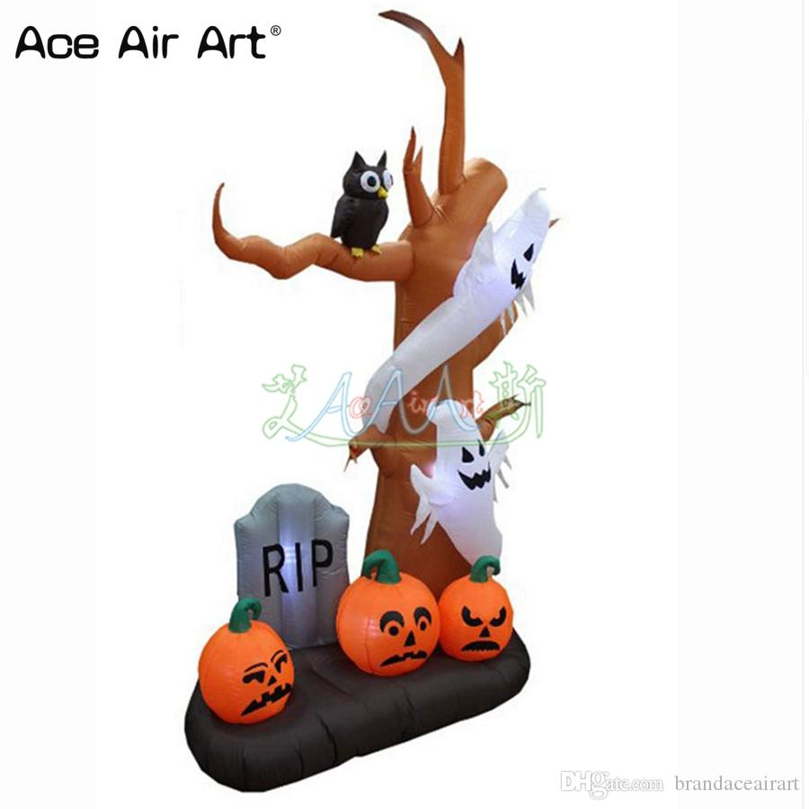 High Quality Halloween Decoration Inflatable Ghost Tree,scary ...