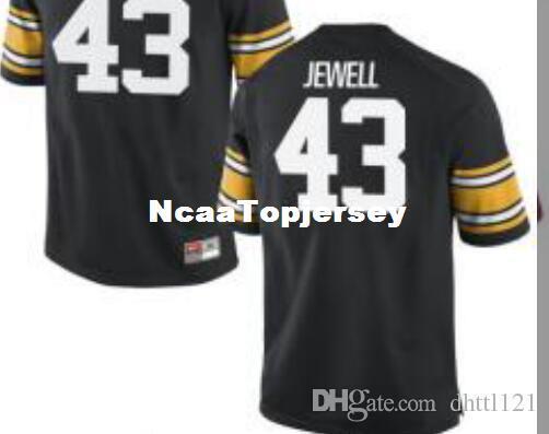 new style 9c185 17e21 Cheap Men #43 Black Josey Jewell Iowa Hawkeyes Alumni Jersey Stitched  Football jerseys