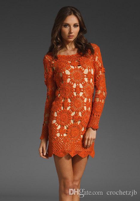 Handmade crochet dress,boho clothing,gypsy dress,vintage,gift ideas,summer dress,beach handmade - Made to Order