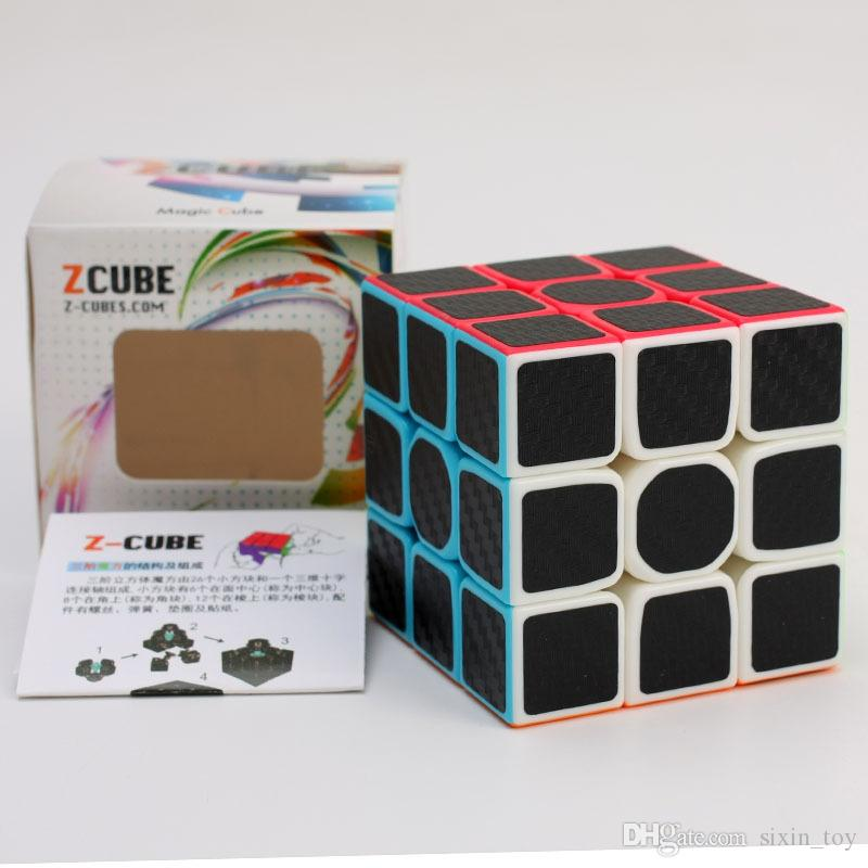New Arrival Carbon Fiber Smooth Hand Spinner Magic Speed Cubes Magic Square Puzzle Adult and Children Educational Toys