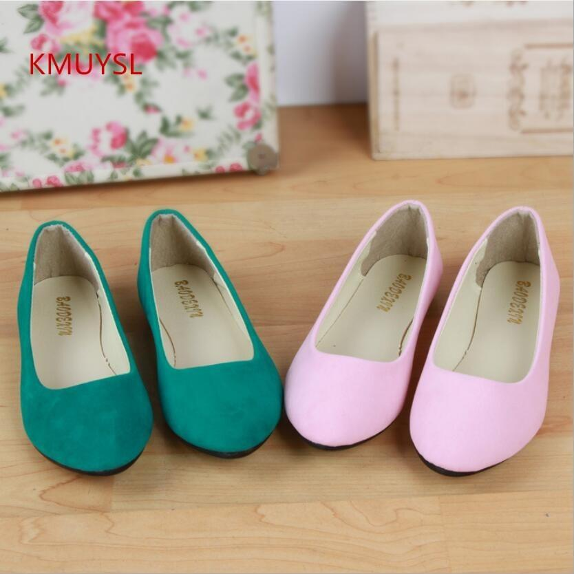 2bfe8e5aa595 2019 Casual 2016 Summer New Large Size Women S Fashion Flat Suede Shoes  Woman Ballet Flats Shoes Shoe Sale Shoes Uk From Shoe33