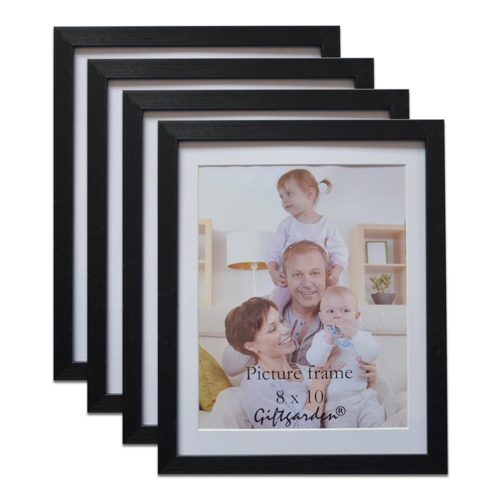 Giftgarden 8x10 Wooden Picture Frame Set For Decoration Wall Photo