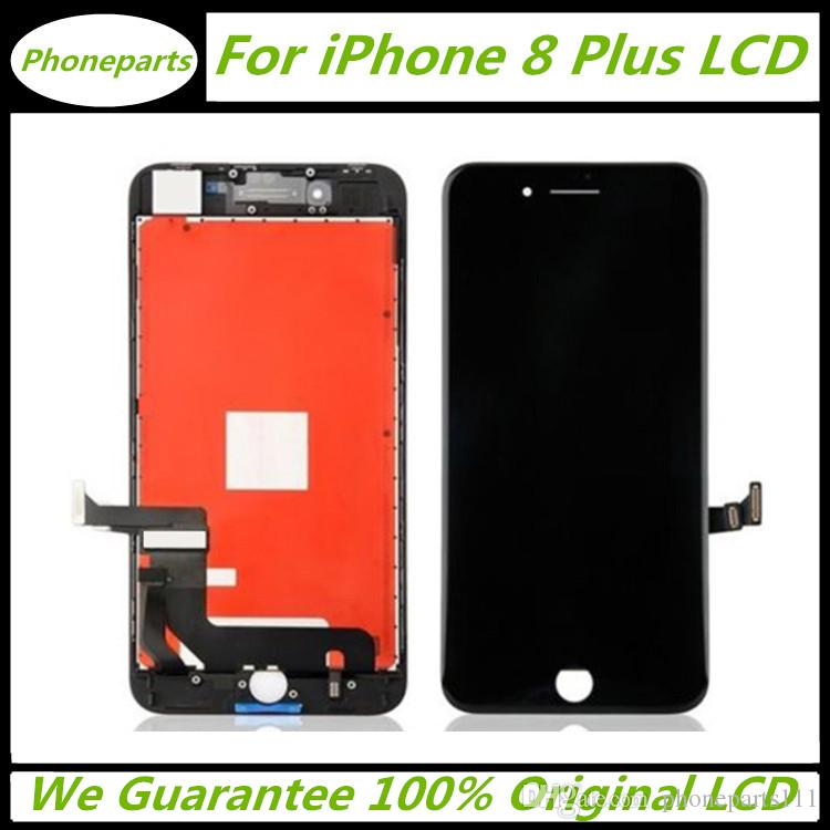 separation shoes c8d67 2df02 100% Original LCD For iPhone 8+ iPhone 8 Plus LCD Display Touch Digitizer  Complete Screen with Frame Full Assembly Replacement via Free DHL