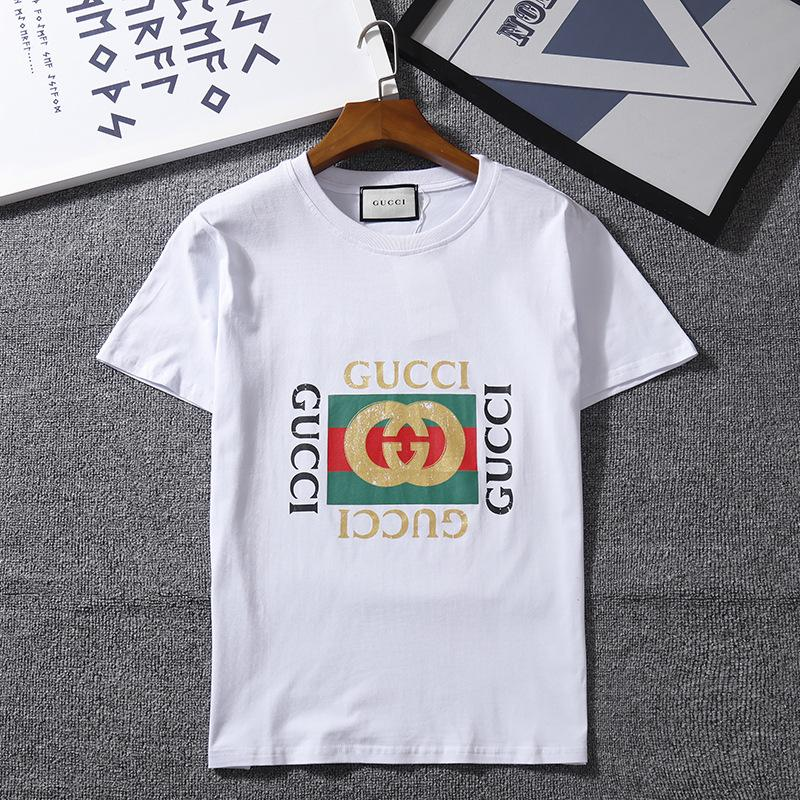 6fdef4bb289 2018 Fashion Designer T Shirts For Men Women Luxury Brand T Shirts Summer  Couple Designer Mens Clothing Loose Fashion Tide Letter Print Buy Designer  Shirts ...
