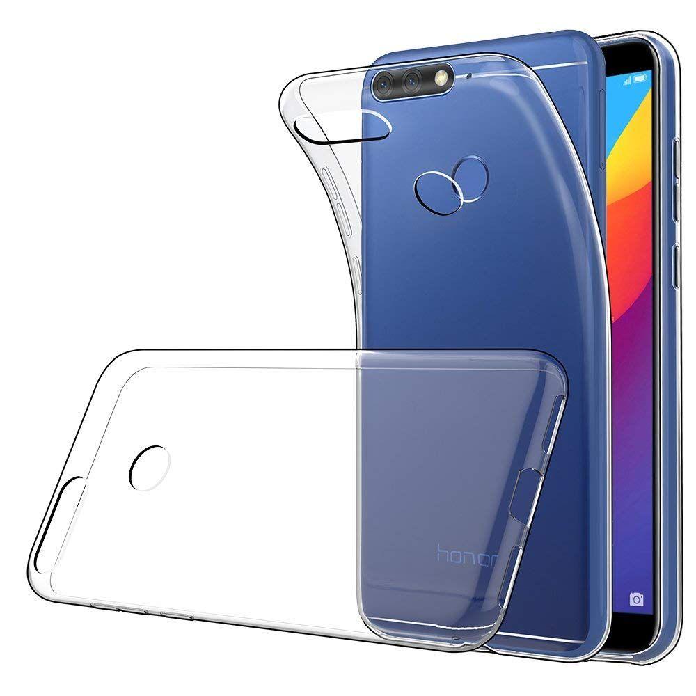 72affb1285b Carcasas Personalizadas Alta Caja Del Teléfono TPU Brillante Para Huawei  Honor Play 10/9/8 / 7A / 7X / 7C / 8X Ultra Delgada Transparente Silicona  Suave ...