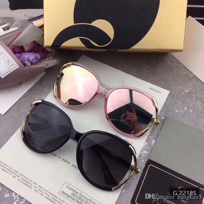 cccd09ee05b 0New Fashion Designer Sunglasses PC Full Frame G2218S Model High ...