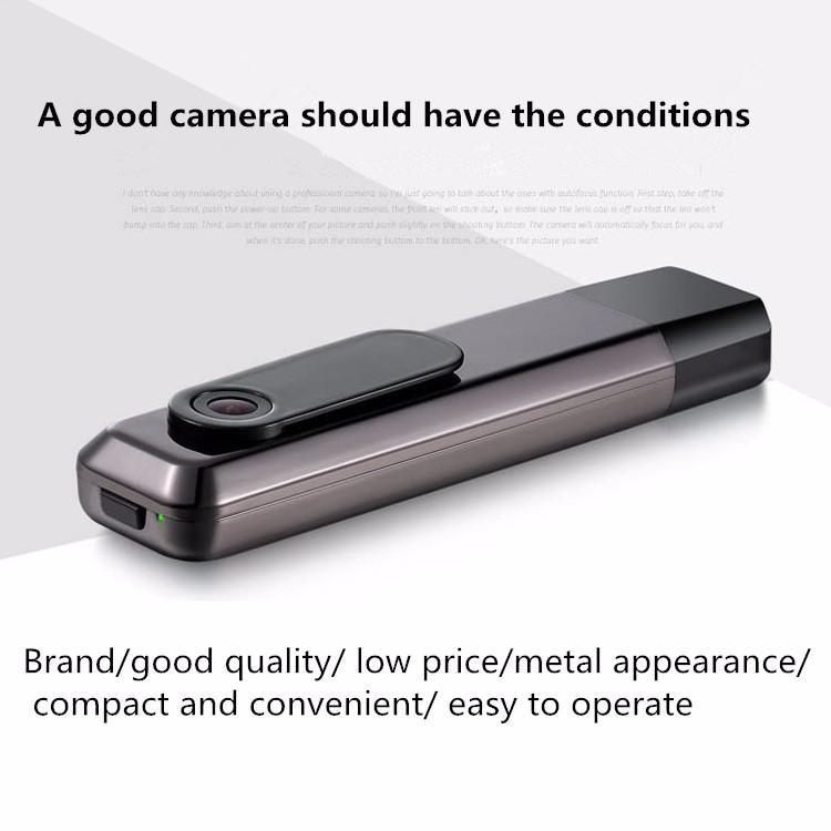 C18 Mini cámara 2.7K HD H.264 pluma de la cámara portátil de trabajo cuando se carga la grabadora de voz Mini DV videocámara Micro cámara Espion
