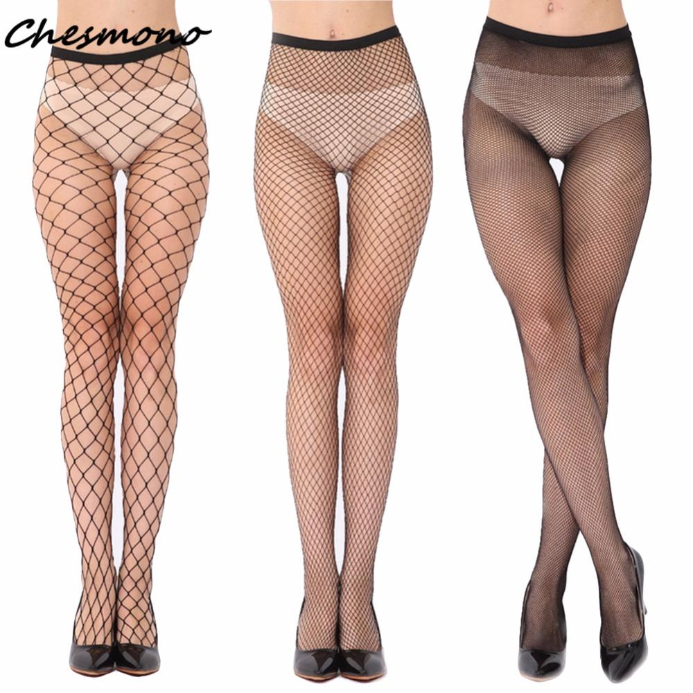 ea65e195e71a5 2019 Black Hollow Out Sexy Pantyhose Female High Waist Fishnet Stockings  Club Party Tights Panty Knitting Net Trousers Mesh Lingerie From Brry, ...