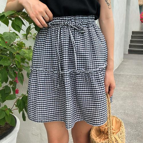 Acheter Hot 2018 Femmes D été Harajuku Sexy Mini Taille Haute Jupe Fille  Vintage Mignon Uniformes Scolaires Jupes De Mode Plaid A Ligne Jupe De   32.95 Du ... 6c5b6314cc3