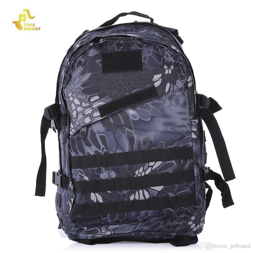 81950874d86a FREEKNIGHT BL006 Outdoor Shoulder Bag Camping Hiking Backpack Wide ...