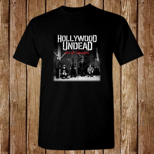4334742e2de66 Hollywood Undead Day Of The Dead Size S 5xl T Shirt Funny Tees Funny T Shirts  For Women From Zaeystore
