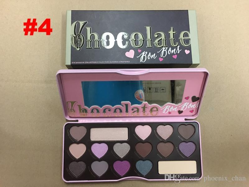 Hot sweet peach eye shadow Chocolate Gold palette eyeshadow white Chocolate bar Peaches Eye shadow Makeup Cosmetics