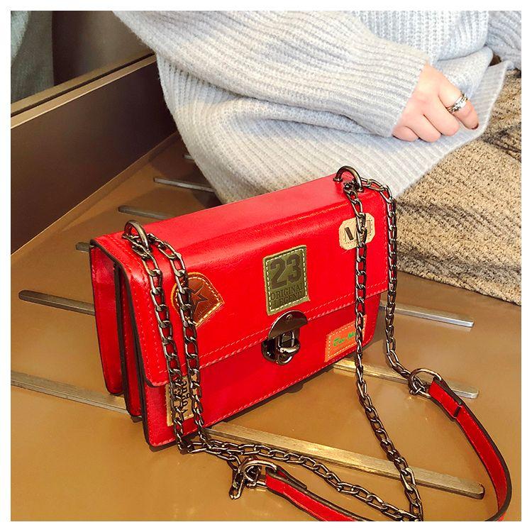 f36b69a9b846 High Quality Retro Women Handbag Tote Hasp Chain Bags Female Shoulder Bags  Cross Body Purse Handbags Gaoer   11 Messenger Bags For Women Leather  Satchel ...