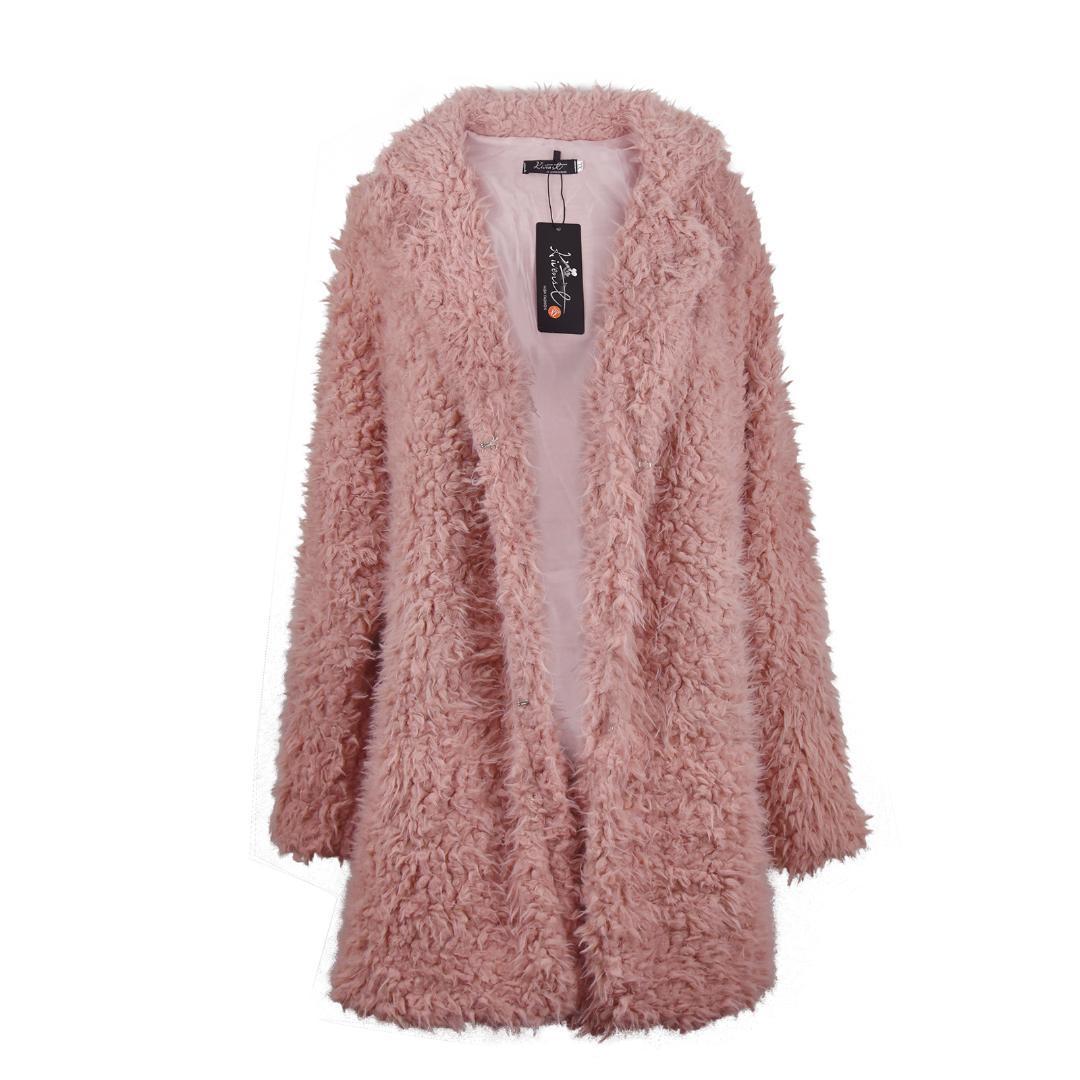 Großhandel Winter Warm Outwear Damen Mantel Lange Mäntel Frauen