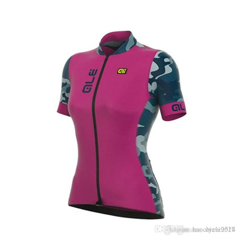 bd9bd404a ALE Pro Team Women Cycling Short Sleeves Jersey New Hot Summer ...