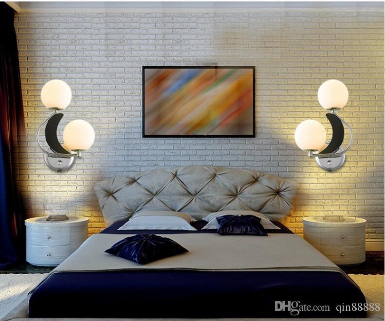 Современный минималистский матовые Спальня / Спинка / Гостиные / Гостиница / Aisle / Уголок с регулируемой стены света