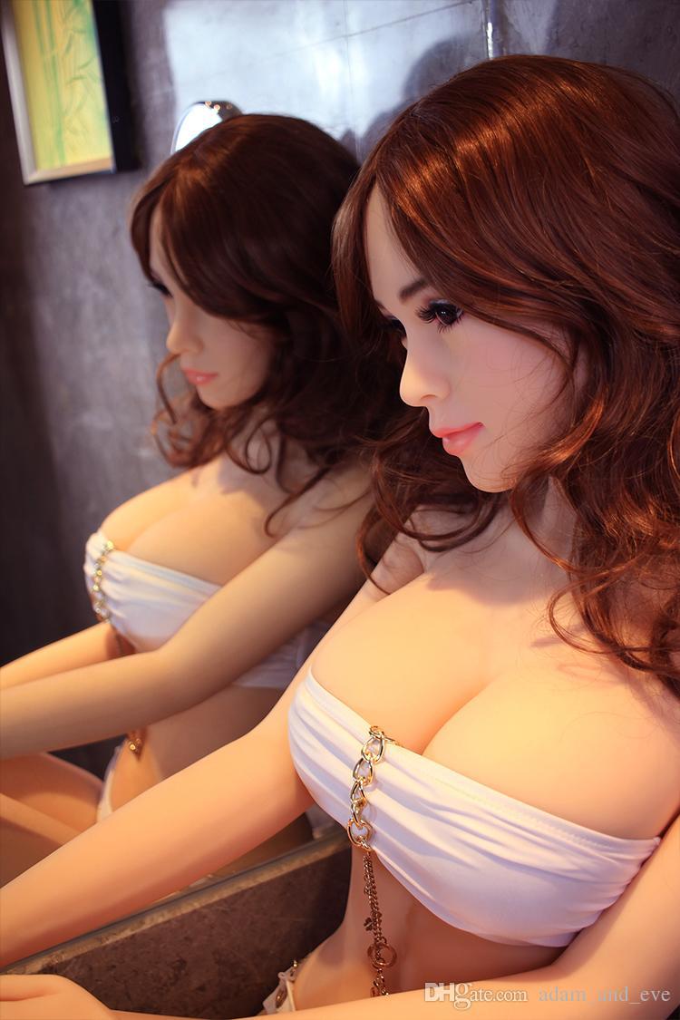 Super Big Boobs Sex Doll Bonecas Sexuais de Silicone Completo para Os Homens 165 cm Japonês Boneca do Amor com o Metal Interno Esqueleto Brinquedos Adultos Do Sexo