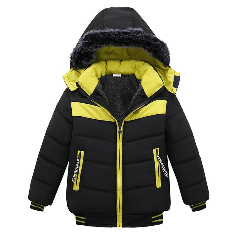 fa1f2a9d7 Toddler Baby Boys Jackets 2018 Autumn Winter Jacket For Boys Coat ...