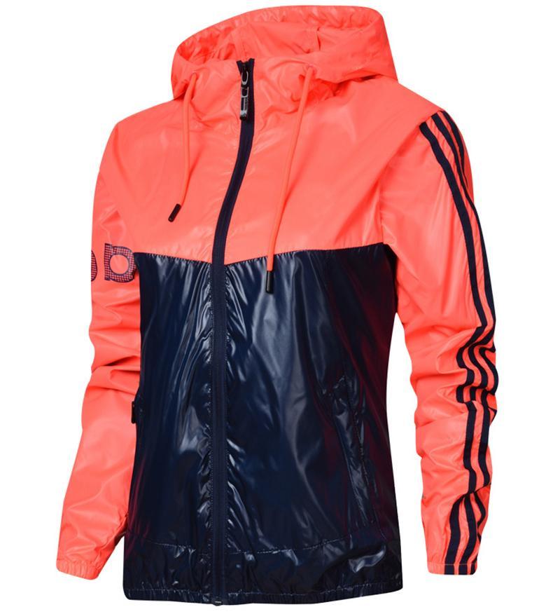Womens Designer Jackets Stylish Fashion Tide Women Jacket Sport Outdoor  Windbreak Size M 2XL Women Clothing Vintage Leather Jackets Designer  Leather Jackets ... 86cf2162c