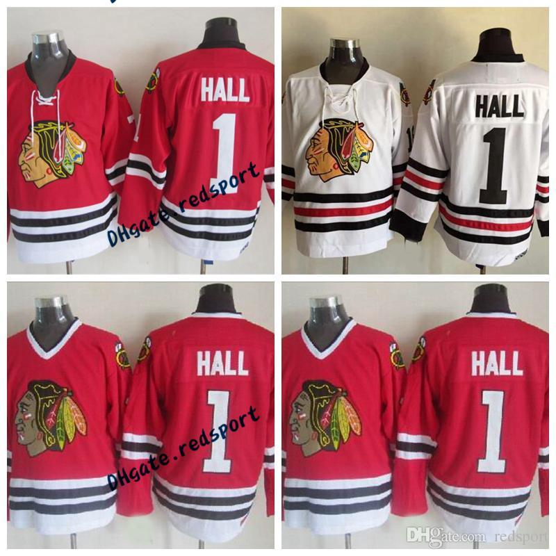 c9b0f2281 ... sale 2018 chicago blackhawks glenn hall hockey jerseys vintage ccm  classic white red 1 glenn hall