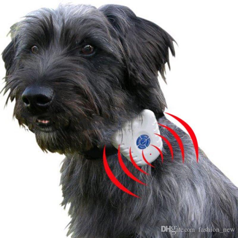 2018 nouveau chien sécuritaire ultrasons chien aboiement stop anti-aboiement collier de contrôle cesser d'aboyer les colliers de chien