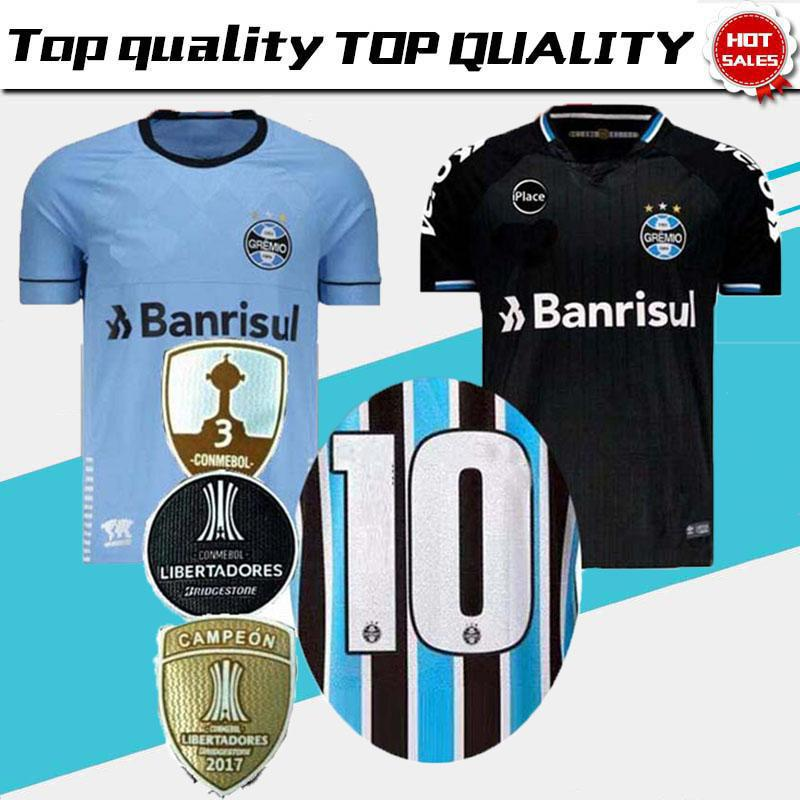 2f6cda55824 2018 2019 Best Quality Gremio Home Away Third Soccer Jersey 18 19 ...