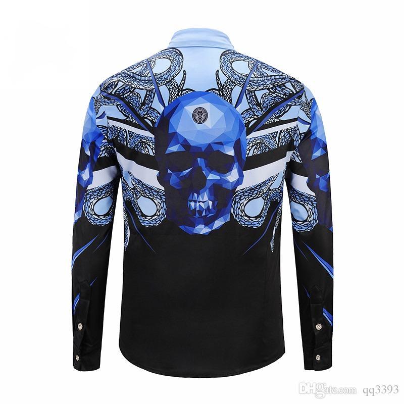 75378fda9228 AVA 2018 3d Printing Tiger New Men s Fashion Luxury Fashion Casual ...