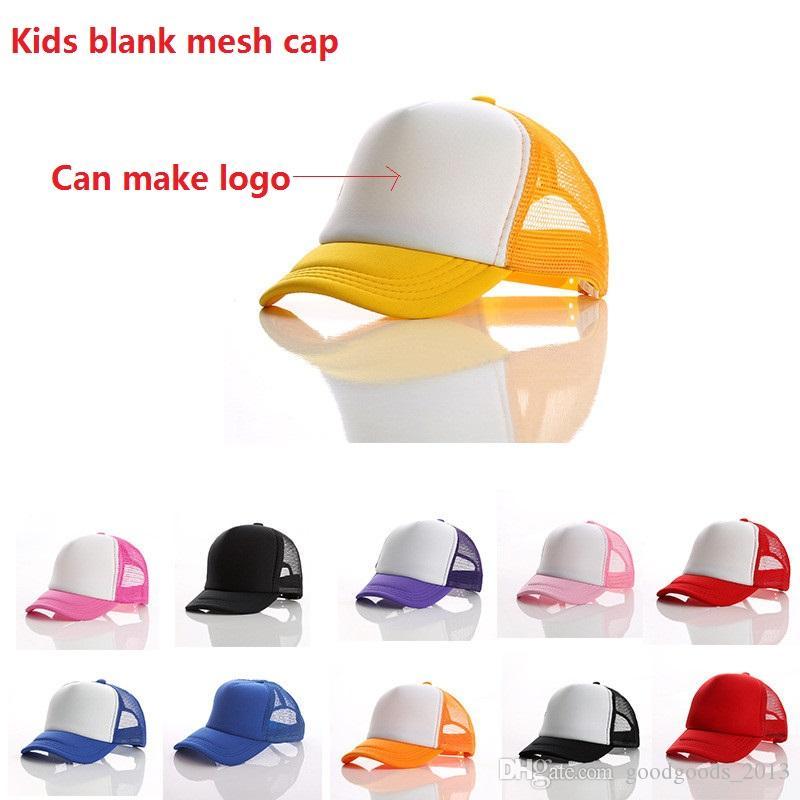 e03c9d2913e Kids Trucker Cap Adult Mesh Caps Children Blank Trucker Hats ...