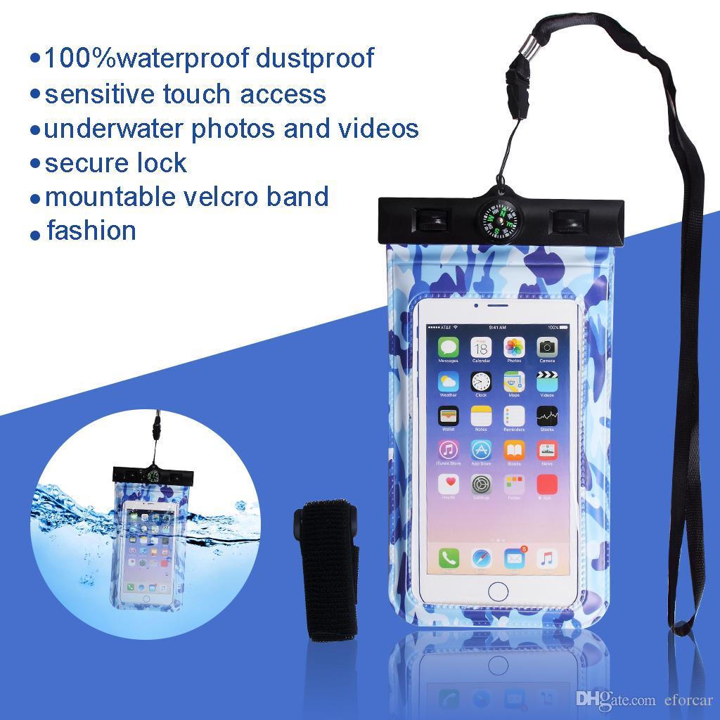 Handyhüllen Wasserdichte Zubehör Taschen Handy Mit Tasche mNv80wn
