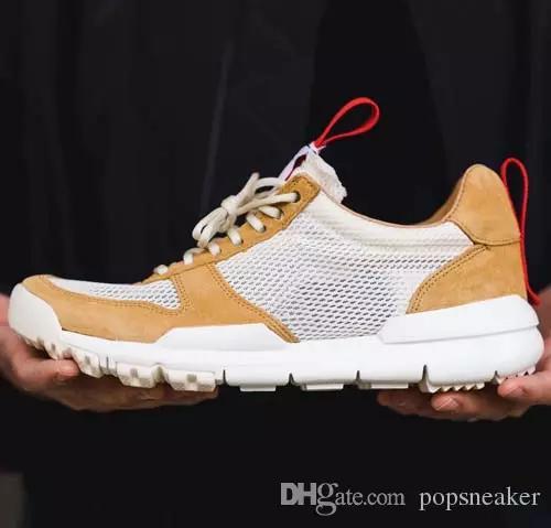 333e146065 Compre Moda Tom Sachs X Craft Mars Yard 2.0 Ts Zapatos Nasa Hombres Mujeres  Zapatillas Casual Naturales Zapato Rojo Zapatillas Vintage Tamaño 36 45 A  $48.24 ...