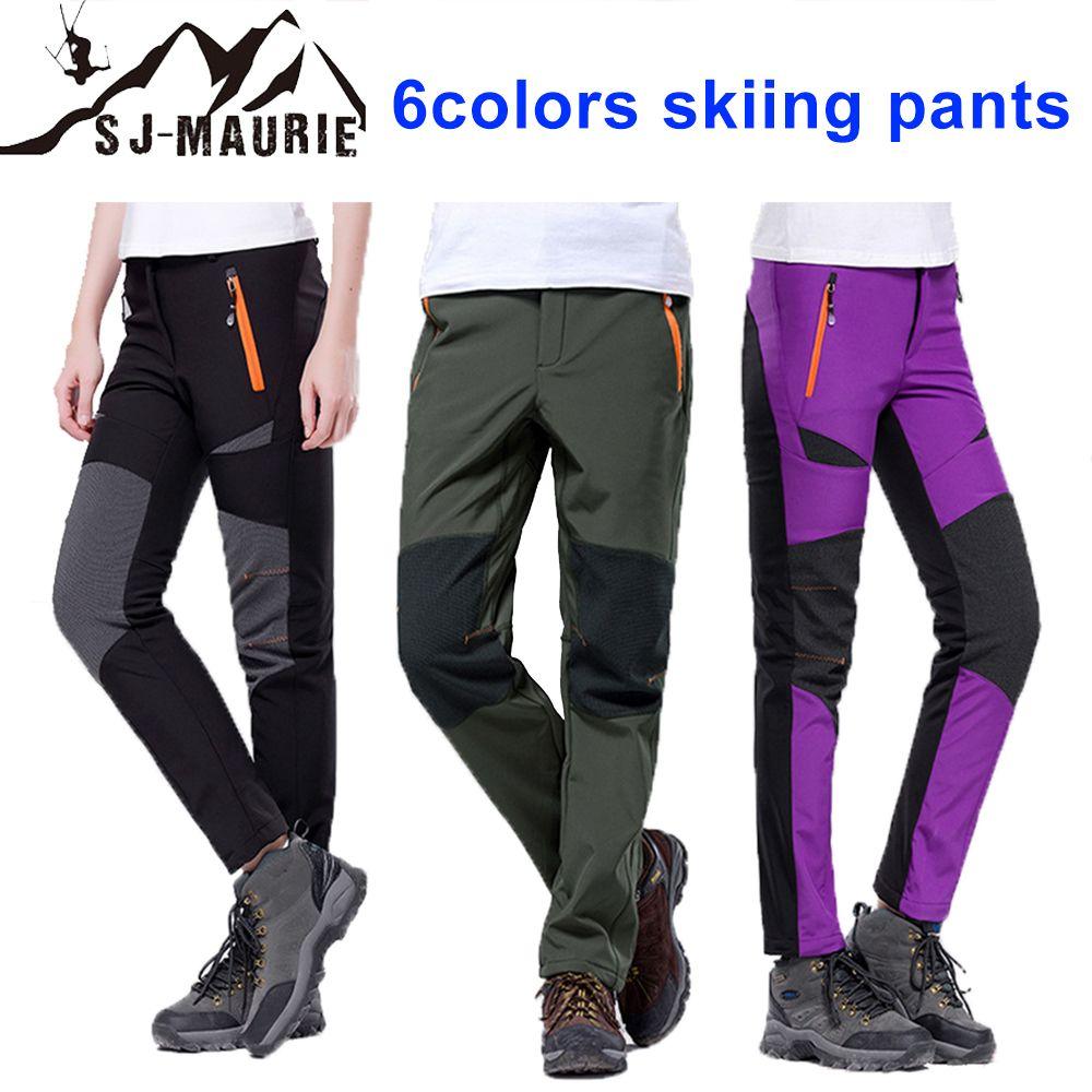 0313b5241d5ef 2019 SJ Maurie 2018 Stylish New Waterproof Snow Pants Winter Outdoor Men Ski  Pants Snowboard Skate Bibs Snow Ski Women From Peniss