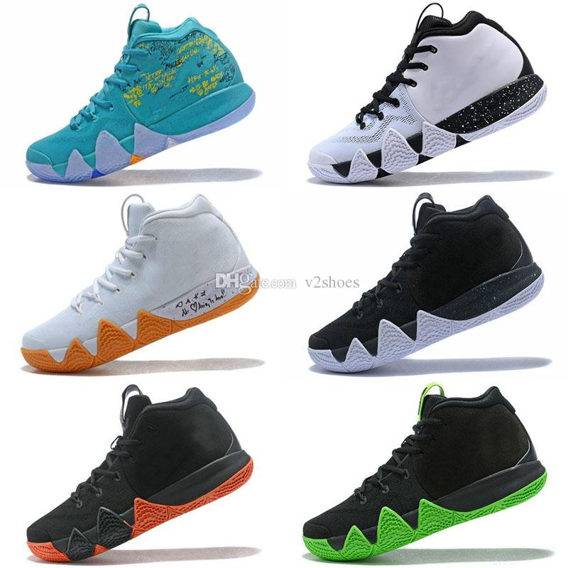 Andrew Irving 4 Equality kids women shoes hot sales Free shipping Top Quality Irving 4 Basketball shoes store US7-US12