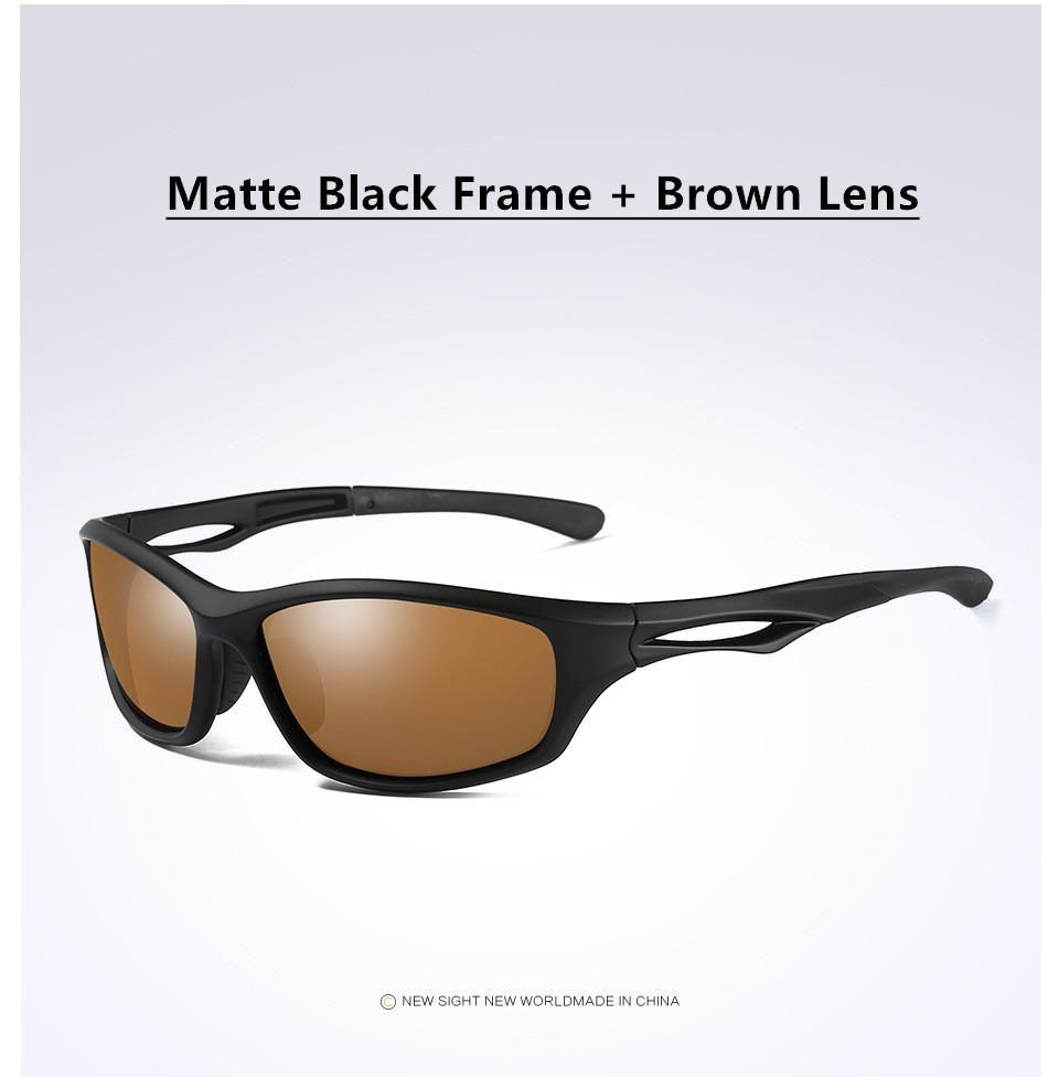 6ee83fd7e2b4cc Acheter Lunettes De Soleil Brown Lenses Tr 90 Lunettes De Vue Rx Kd 800  Series De  148.5 Du Kampuck   Dhgate.Com