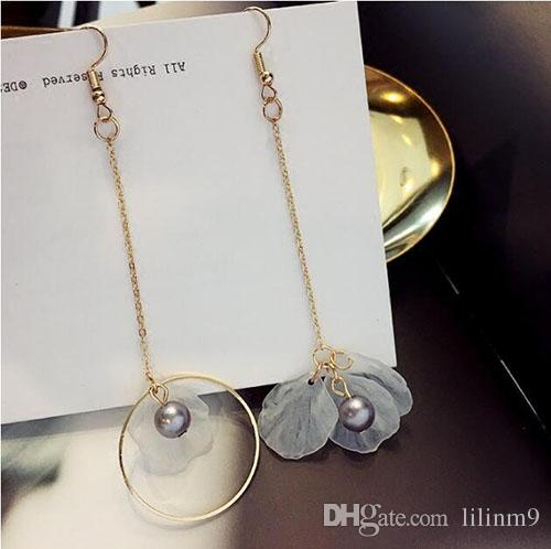 New Europe And The United States Foreign Trade Wind Big Jewelry Earring Personality Moon Ear Clip Wholesale Fashion Womens Star Jewelry & Accessories