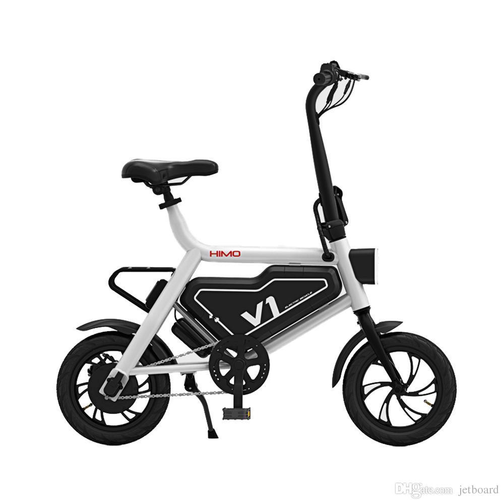 Mini Falten Roller E-bike Tragbare Faltbare Elektrische Fahrrad Fahrrad Bürstenlosen Motor Lithium-batterie Leichte Rollschuhe, Skateboards Und Roller